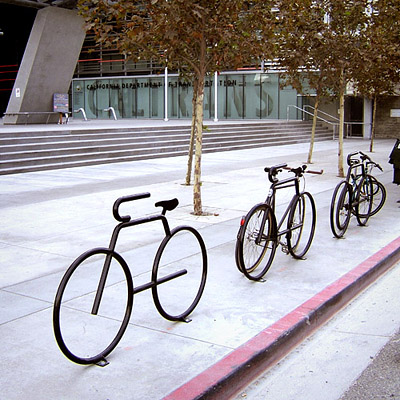 Bicycle Fixation: Photo Essay: Art Racks of Los Angeles